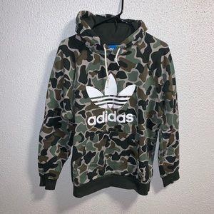 Adidas camo hoodie!